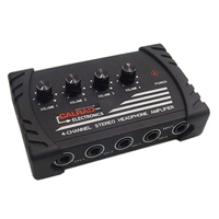 Calrad 15-133 4 Channel Stereo Headphone Amplifier