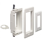 Calrad 28-LVU1 Recessed One Gang Combo Box