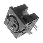 Calrad 30-321 3 Pin Mini Female DIN Connector