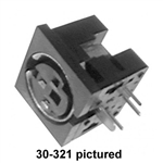 Calrad 30-327 6 Pin Female Mini DIN Connector