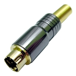 Calrad 30-505 SVHS Plug for 8mm Cable