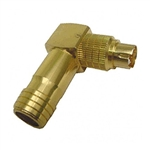 Calrad 30-505-RA-8 Right Angle 8 pin Mini-Din plug for 8mm Cable