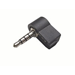 Calrad 30-702 Male Right Angle 4 conductor 3.5 mini plug, solder type (Sony)
