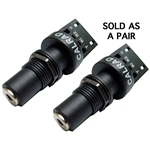 Calrad 30-712K-S-2 3.5mm 4 Conductor Solderless Keystone - Sold as a pair