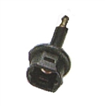 Calrad 35-440<br>Fiber Optic - Toslink to 3.5mm Adapter