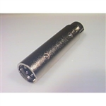 Calrad 35-464 XLR Male to Female Adapter