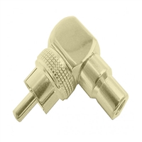 Calrad 35-480 RCA Right Angle Male to RCA Female