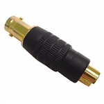 Calrad 35-499-P Economy converter male SVHS to female RCA video adapter