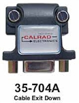 Calrad 35-704-A Right Angle VGA Adapters - Exit Down <b>replaces 35-725a</b>