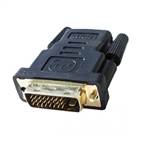 Calrad 35-711A HDMI Female to DVI-D Male Adapter with Gold plated contacts.