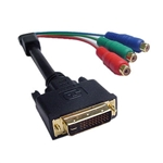 Calrad 35-720 M1DA Male to component video RCA Female jacks