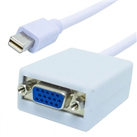 Mini Display Port Plug to VGA Jack Video Adapter | 35-732 Calrad Electronics