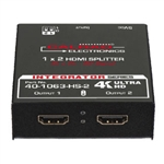 Calrad 2-Way HDMI Splitter - 1080P & 4K