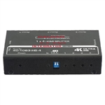 Calrad 4-Way HDMI Splitter - 1080P & 4K