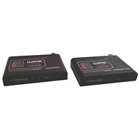 HDMI Transmitter & Receiver, 2-Wire, Pair with IR, RS232 | 40-204 Calrad Electronics