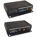 Calrad 40-40VH01-SYL VGA & Stereo Audio with Loop Digital Audio to HDMI