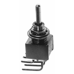 Calrad 40-503 Toggle Switch, DPDT, On-Off-On