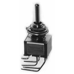 Calrad 40-513 Toggle Switch, DPDT, On-Off-On, Vertical Mt.