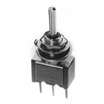 Calrad 40-521 Toggle Switch, SPDT, On-Off-On, PC Mount