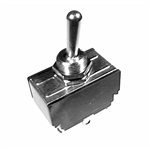 Calrad 40-563 Toggle Switch, DPDT Heavy Duty 20 Amp.(On-Off-On)