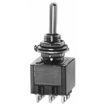 Calrad 40-569 Mini Economy Toggle Switch, DPDT On-Off-On