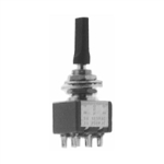 Calrad 40-585 Miniature Flat Toggle Switch, DPDT On-On