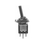 Calrad 40-608 Ultra Mini Toggle Switch, SPDT On-On