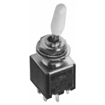 Calrad 40-611 Sub-Mini Toggle Switch, DPDT