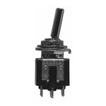 Calrad 40-614 Sub-Mini Toggle Switch, DPDT On-On