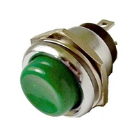 Calrad 40-629-[Pick a Color] Heavy Duty Push Button Switch, SPST momentary, push to make.