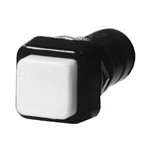 Calrad 40-689 Push Button Switch SPST Momentary Cream