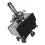 Calrad 40-692 Toggle Switch, DPDT Heavy Duty