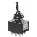 Calrad 40-699 Sub-Mini Toggle Switch, 3PDT On-On