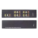 Calrad 40-804 1-4 Audio-Video Distribution Amp