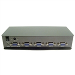 Calrad 40-829R-4 4 Input 1 Output Manual or IR VGA Switcher