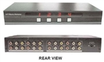 Calrad 40-830M 4 X 4 Audio/Video Composite Matrix Switcher