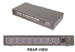 Calrad 40-839<br>1 X 8 S-VIDEO DISTRIBUTION AMPLIFIER