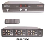 Calrad 40-841M 4 X 2 COMPOSITE/S-VIDEO MATRIX SWITCHER