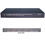 Calrad 40-849M<br>1 X 8 A\V HDTV DISTRIBUTION AMPLIFIER