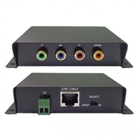 Component Video, Digital Audio and IR Extender Over Cat 5e | 40-YE0ID Calrad Electronics