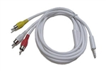 Calrad 42-105-3 iPod Audio-Video Interface 3ft.Cable - Connect iPod to your television set with the iPod AV Cable