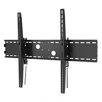 "47-111 Calrad Electronics | Tilting Wall Mount for Curved & Flat Panel TVs, Fits 60"" - 100"""