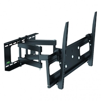 "47-120 Calrad Electronics | Full Motion Tilt and Swivel TV Wall Mount Bracket Dual Articulating Arm, Fits 37""-70"""
