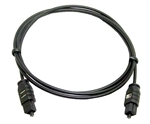 Calrad 55-500-1 2.2mm Fiber Optic Cable Toslink to Toslink 1 meter