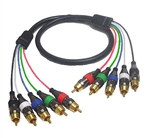 Calrad 55-510-10 Shielded RGB + SYNC HDTV Cable - 10 ft.