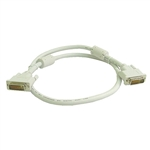 Calrad 55-625D-10-WH DVI-D Male to Male Digital Video Cables , 10 ft.