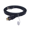 Calrad 55-627-6 6 ft. Male to Male Flat HDMI Cable