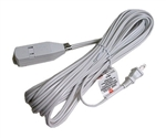 Calrad 55-786-3 Extention Cord 16AWG 3FT