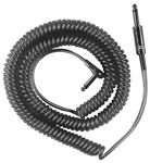 Calrad Electronics 55-954-BK Shielded Guitar Cable Black 20' Extended w/ Right Angle Plug