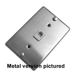 Calrad 70-427-M<br>Wall Phone Mounting Plate Single Metal